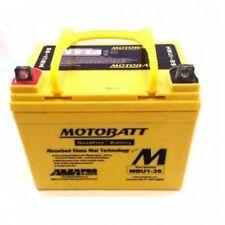 New MotoBatt MBU1-35 12V AGM Sealed Replacement Rhino Mule Lawn Tractor Battery