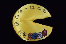 Circa 1982 Rare Pac-Man Midway Games Authentic Original 12 Inch Pillow Cushion