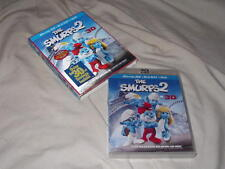 The Smurfs 2 (2013) BLU-RAY 3D+BLU-RAY+DVD 3-Disc Neil Patrick Harris Katy Perry