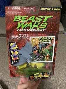Transformers Beast Wars OPTIMUS PRIMAL Vs MEGATRON (1995) Kenner Hasbro