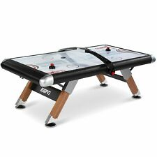 ESPN Belham Collection 8 Foot Air Powered Hockey Table Electronic Scorer & Cover
