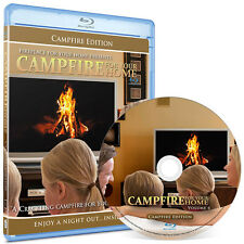 Crackling Fireplace Blu-ray: Campfire For Your Home Edition #6 - 1080 HD