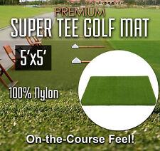 Premium Super Tee Golf Mat - 5 feet x 5 feet