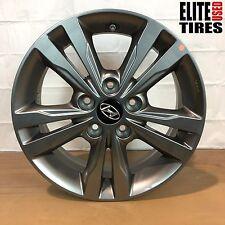 "Hyundai Elantra 2016 2017 Factory OEM Grey Alloy aluminum Wheel Rim 16 x 6.5"""