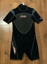 New listing Jobe Spring Shorty Wetsuit 2/1 Power Stretch Neoprene Black Dark Gray XL EUC