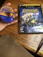 STAR FOX ADVENTURES  (Nintendo GameCube, 2003) COMPLETE CLEAN AND TESTED