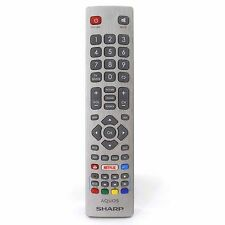 Genuine Sharp Aquos Smart TV Remote Control with NETFLIX YouTube and 3D Buttons