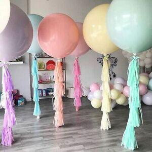 36 Inch Giant Balloon Macaron Pastel Latex Wedding Birthday Party Decoration New