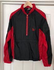 Vintage Puma Savannah Windbreaker Red / Black Size S