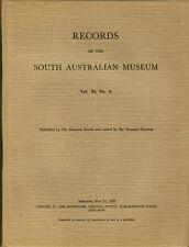 Records South Australian Museum Vol XI No 4 1955 Aborigines Natural History