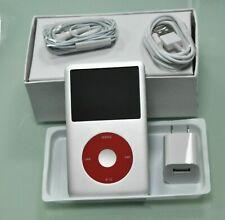 NEW 512GB Apple iPod Classic 7th Gen Silver/Red SSD Flash Drive Upgraded 160G U2