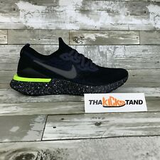 Nike Mens Epic React Flyknit 2 SE Black Sequoia Running Shoes CI6443-001 Size 9