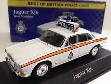 Jaguar XJ6 British Police Cars 1/43 Atlas Diecast