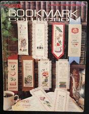Bookmark Collection Leisure Arts Cross Stitch Book Marks 1986