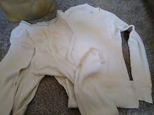 Vintage Sears Long Johns Thermal Long Underwear Top & Bottom Men's Xl
