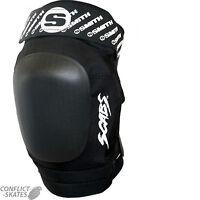 "SMITH ""Scabs"" Elite II Knee Pads Skateboard Roller Derby S/M L/XL BLACK Vert"