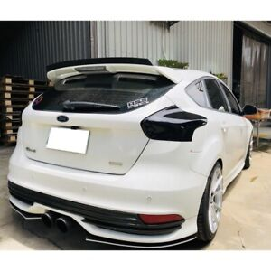 280 PIL Add-on ST Rear Trunk Spoiler Wing For 2011~2018 Ford Focus MK3 Hatchback