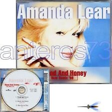 "AMANDA LEAR ""BLOOD AND HONEY NEW REMIX 98"" RARE CDMAXI"