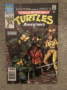 Teenage Mutant Ninja Turtles - Archie Adventure Series #1 - 1988