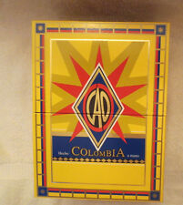 CAO COLUMBIO MAGDALENA YELLOW PAPER COVERED CIGAR BOX -  NICE - BEAUTIFUL!