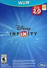 DISNEY INFINITY 2.0 Game Disc Brand New Sealed in Case Wii U Game Only