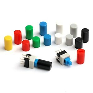 SWITCH CAP for Tactile Push Button Switch  DIP PCB MOUNT 7 x 7mm (cap only)