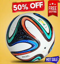 BRAZUCA SOCCER BALL WORLD CUP 2014 BRAZIL FOOTBALL [SIZE 5] BY - Rampage Sports