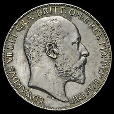 1902 Edward VII Silver Crown – EF