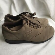 SAS Free Time Brown Suede Walking Shoes Women's US 8.5. New With Defects. 1Y.