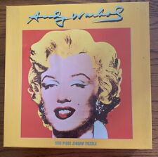 Ceaco 550 Piece Jigsaw Puzzle SHOT RED MARILYN,  1964 Monroe Andy Warhol