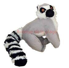 Peluche lémurien velours super doux achat vente doudous pas cher, jouet, neuf