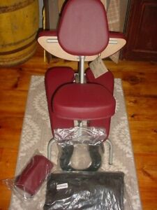UNUSED EARTHLITE Portable Massage Chair Travelling Masseuse Training Therapist