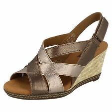 Clarks Wedge Strappy Shoes for Women