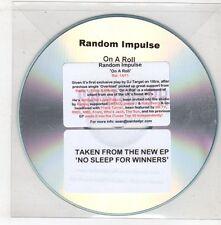 (GX757) Random Impulse, On A Roll - DJ CD
