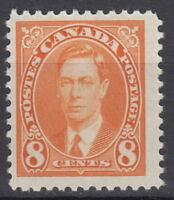 Canada #236 8¢ King George VI Mufti Issue Mint Never Hinged - E
