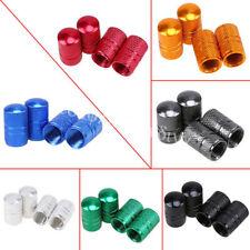 Various Colors Car Wheel Tires Air Valve Stem Duct Caps Cover Aluminum