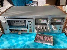 Vintage 1978 Sony Tc-K5 Single Cassette Deck Dolby System