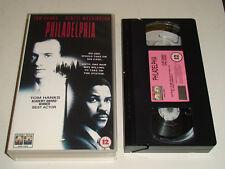Philadelphia - Tom Hanks, Denzel Washington (1993, VHS). Free UK P&P