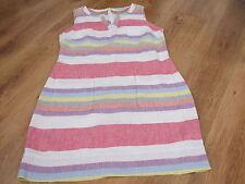 Boden Linen Sleeveless Knee Length Women's Dresses