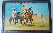 Oil Paintings on Canvas Stunning Art Middle East Desert Artist Signed