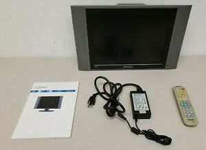 """Polaroid FLM-1512 15"""" LCD TV Small Gaming Kitchen Television Tested Works READ"""