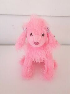TY Flair the Pink Poodle Punkies Beanie with Tags