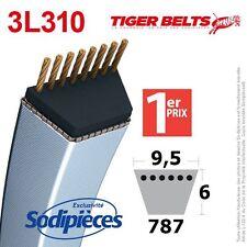 Courroie tondeuse 3L310 Tiger Belts. 9,5 mm x 787 m