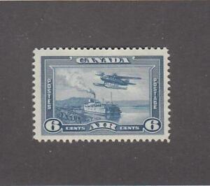 CANADA (MK6904) # C6 VF-MLH 6cts 1938 MONOPLANE OVER MACKENZIE RIVER NWT