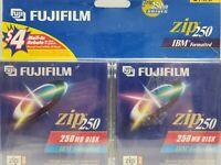 Fujifilm Zip 250 IBM Formatted 250 MB Disk (2-Pack)