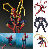 Spider-Man Venom Action Figure Toys Super Hero Collectibles Kids Birthday Gifts