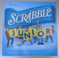 Scrabble Junior Your Child's First Crossword Milton Bradley Ages 5 & Up NEW
