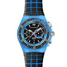 TechnoMarine Men's 111029 Cruise Sport Chronograph Blue and Black