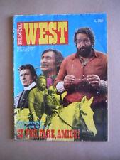 I FILM DEL WEST n°1 1973 Fotoromanzo di Bud Spencer  [D32] BUONO