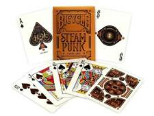 Bicycle Steampunk Playing Cards Gold Standard Theory 11 Poker USPCC 1 Deck USA